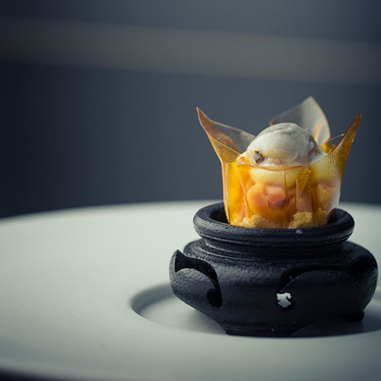 Chefs' Favorite Dishes of 2013: Oyster, Pork Belly and Kimchi at Benu, San Francisco