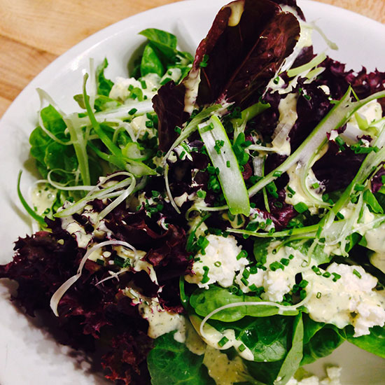 Chefs' Favorite Dishes of 2013: Farm Lettuces at Calliope, New York