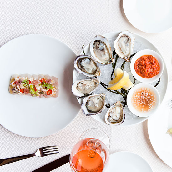 Chefs' Favorite Dishes of 2013: Crudo at Costata, New York