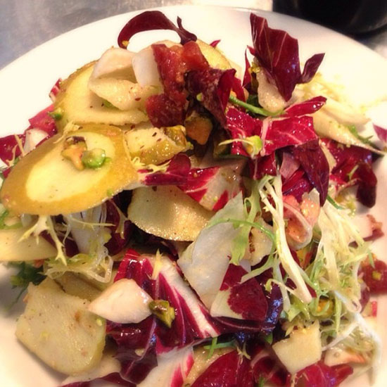 Chicory Salad with Apples