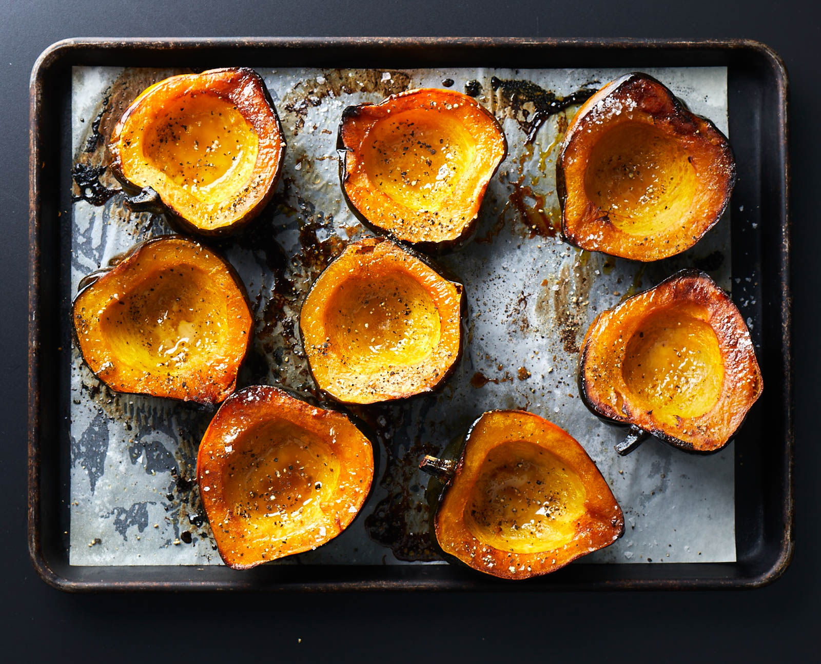 Classic Brown Sugar-Roasted Acorn Squash