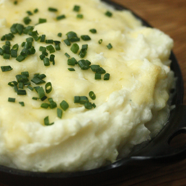 Mashed Potato Casserole with Gruyère