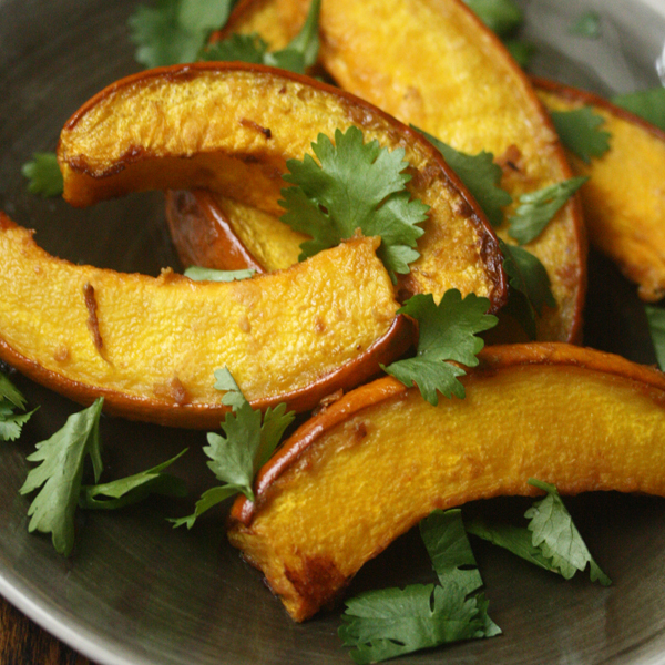 Miso Pumpkin Wedges