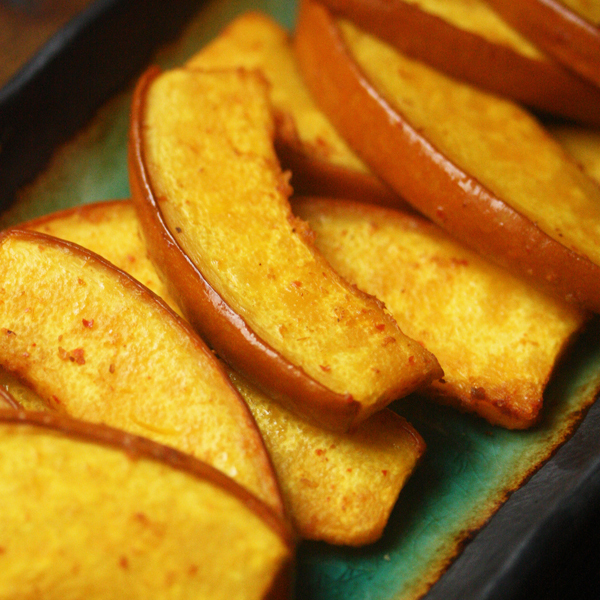 Red Curry Roasted Pumpkin