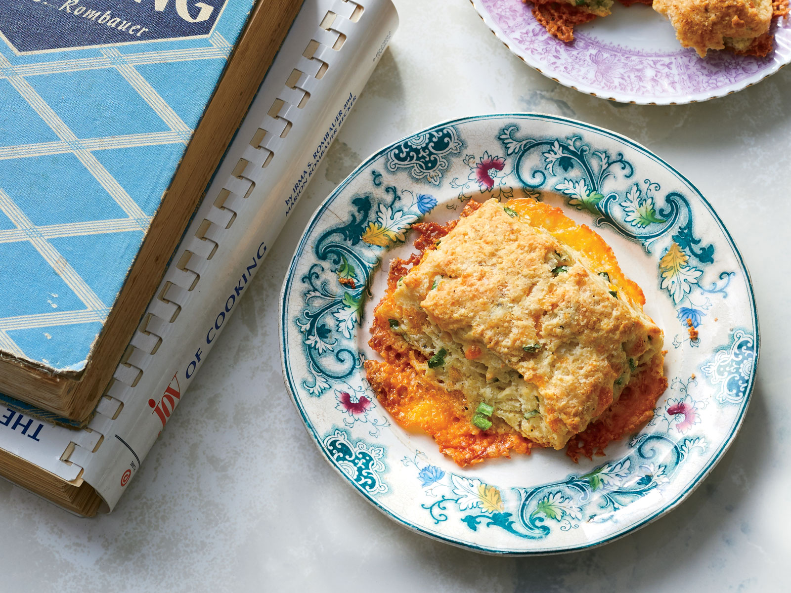 Cheddar-Scallion Biscuits