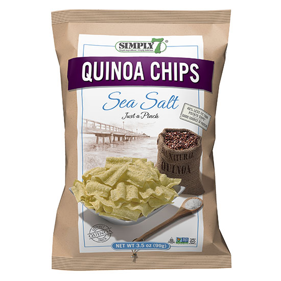 Top 10 Quinoa Products: Simply7 Quinoa Chips
