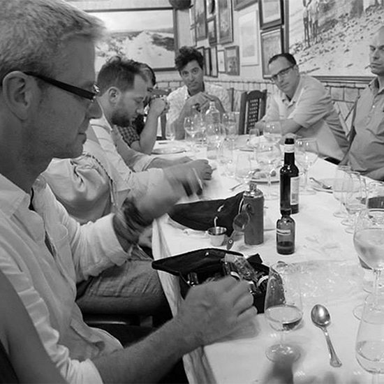 Chef Dream Trip to Southern Spain: Around the dining table