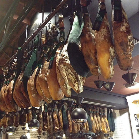 Chef Dream Trip to Southern Spain: Ham in a Market