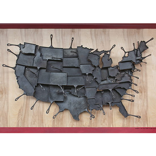 "State Pride Home Design: ""Made in America"" Cast-Iron Skillets"