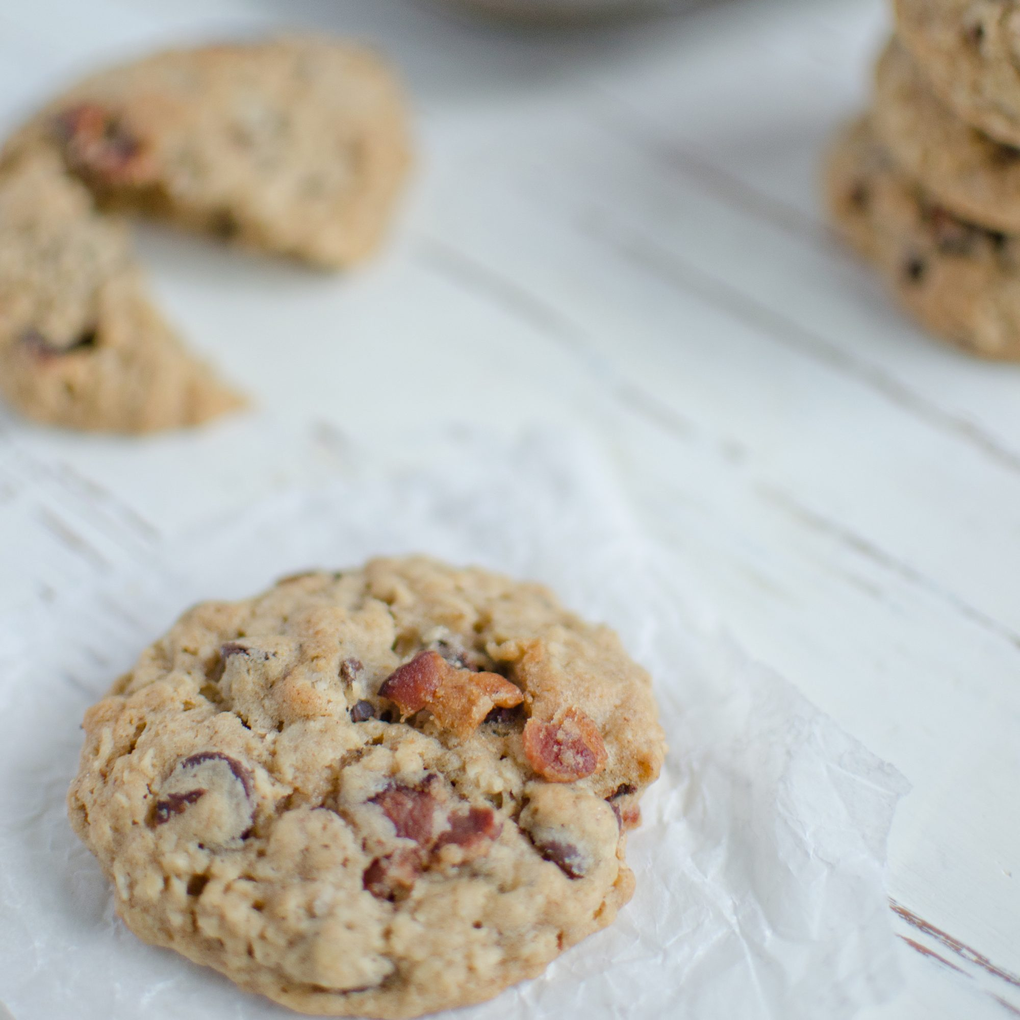 Bacon-Chocolate-Chip-Oatmeal Cookies