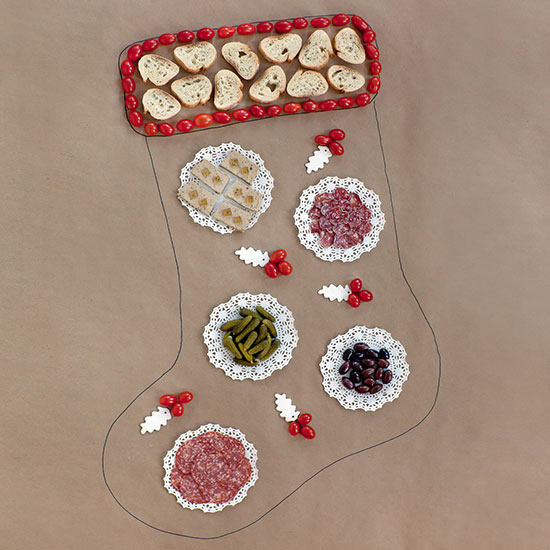 Affordable Holiday Table: The Charcuterie Edible Table