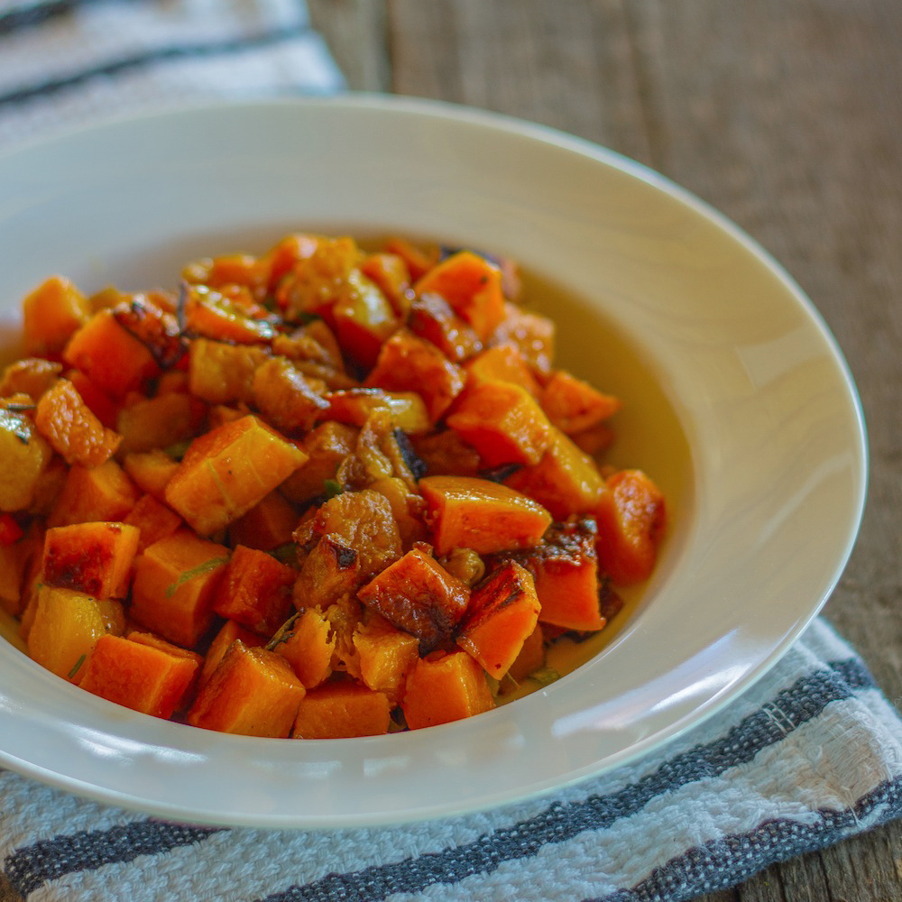 Balsamic-Glazed Butternut Squash