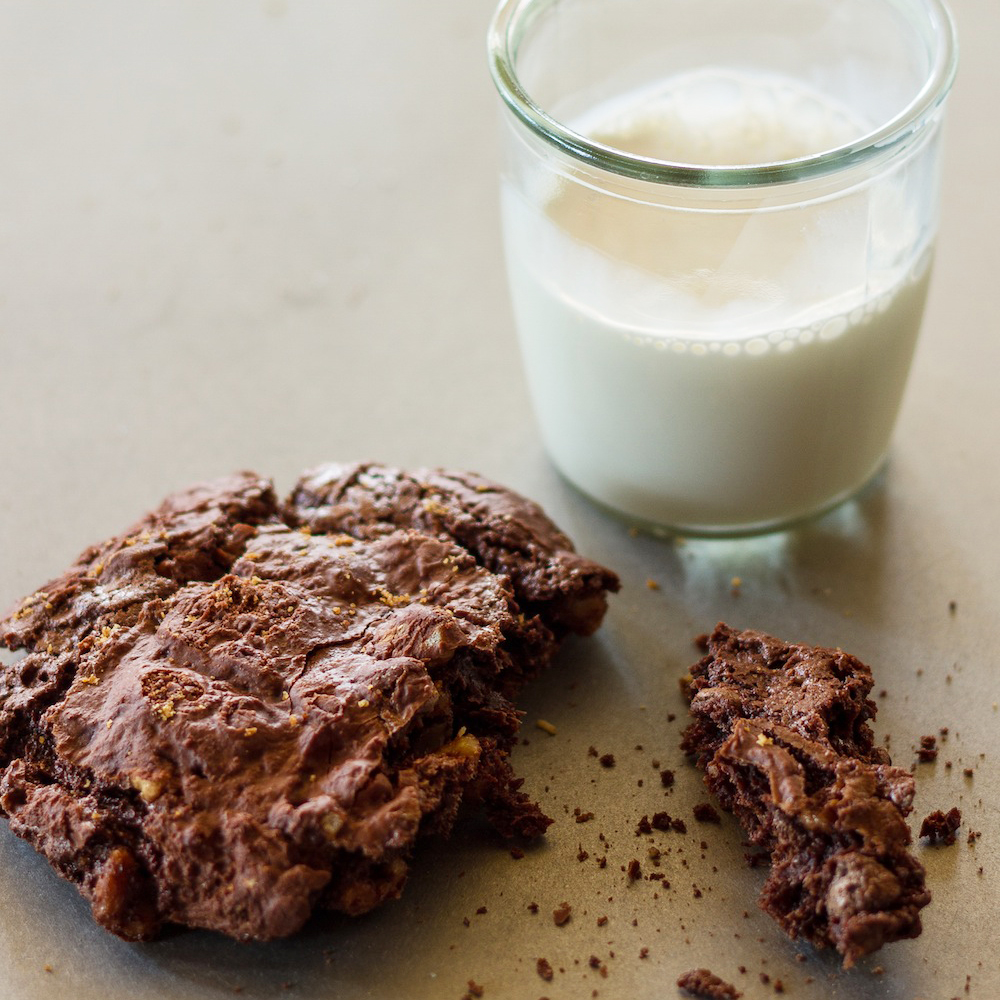 Chewy Double-Chocolate Cookies