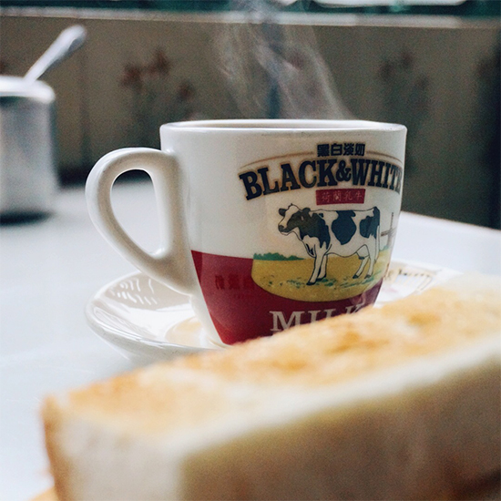 Hong Kong Photo Tour: Milk Tea and Toast