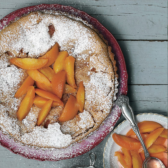 Double-Peach Tart