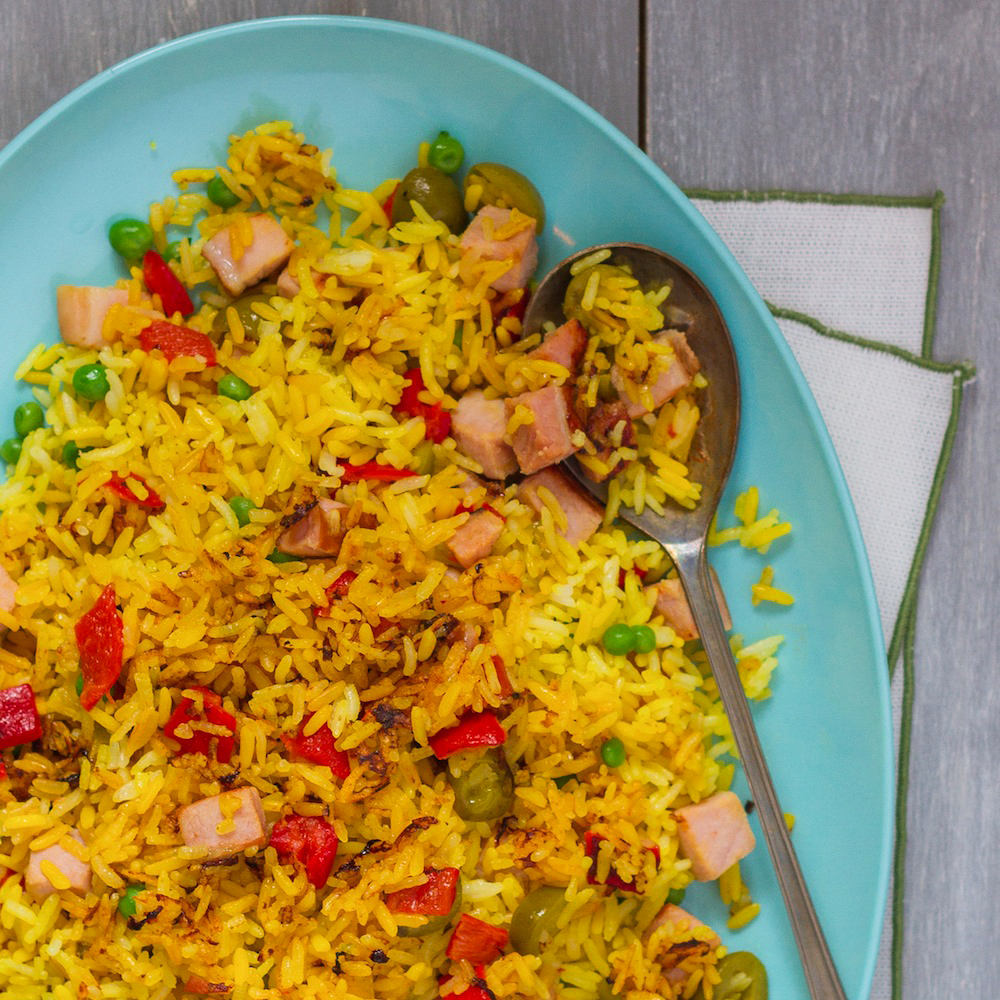 Puerto Rican Fried Rice
