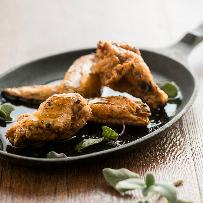 Brown Butter-Sage Chicken Wings