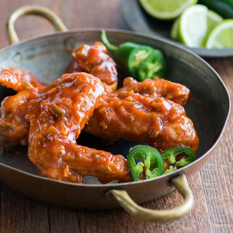 Jalapeño Chicken Wings