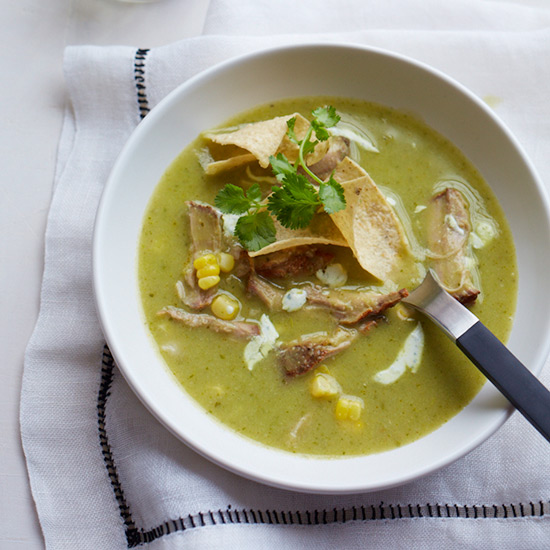 Tortilla-Corn Soup