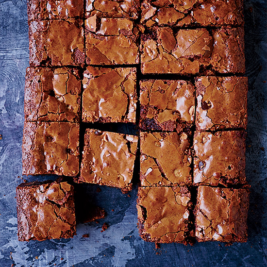 Best Chocolate Recipes: Double Chocolate-Peanut Butter Chip Brownies