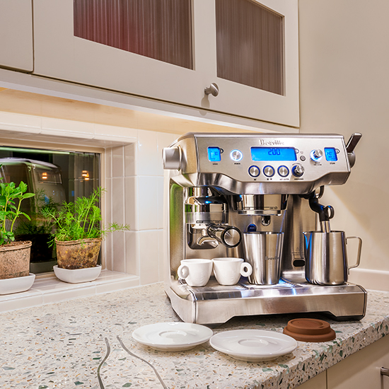 Kitchen Design Trends: Breville Espresso Maker