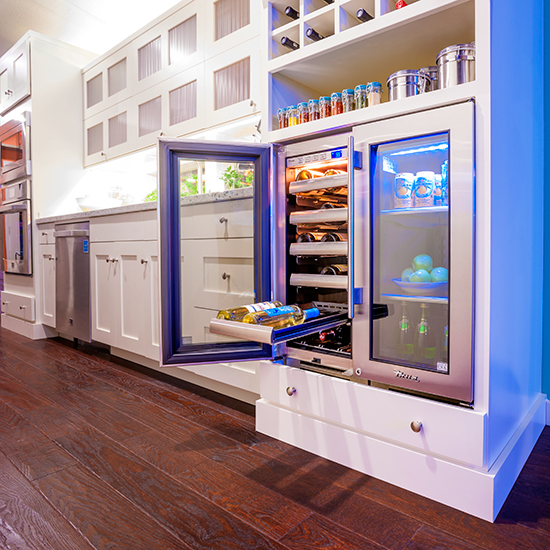 Kitchen Design Trends: Beverage Center
