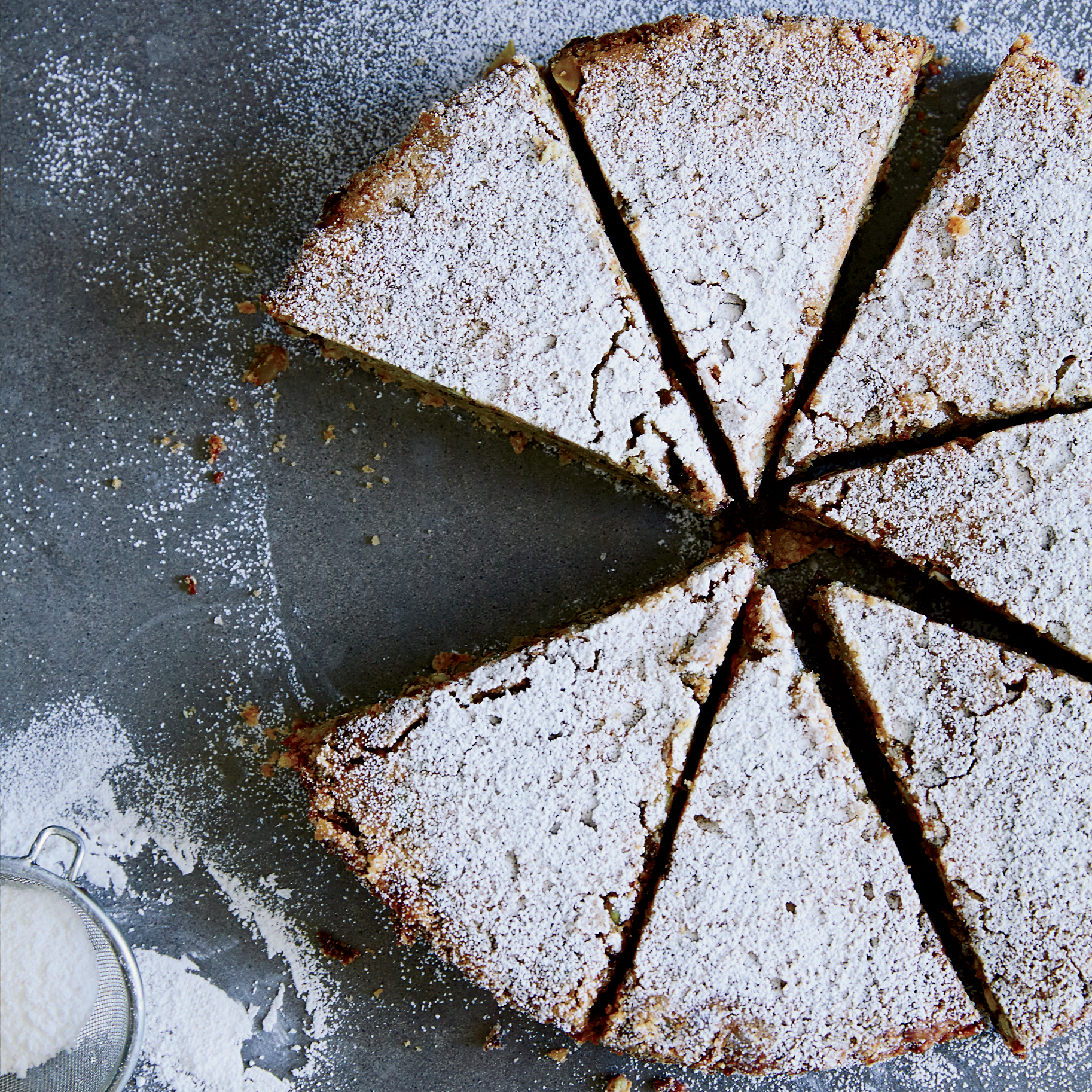 Mexican Chocolate Chip-Pumpkin Seed Cake