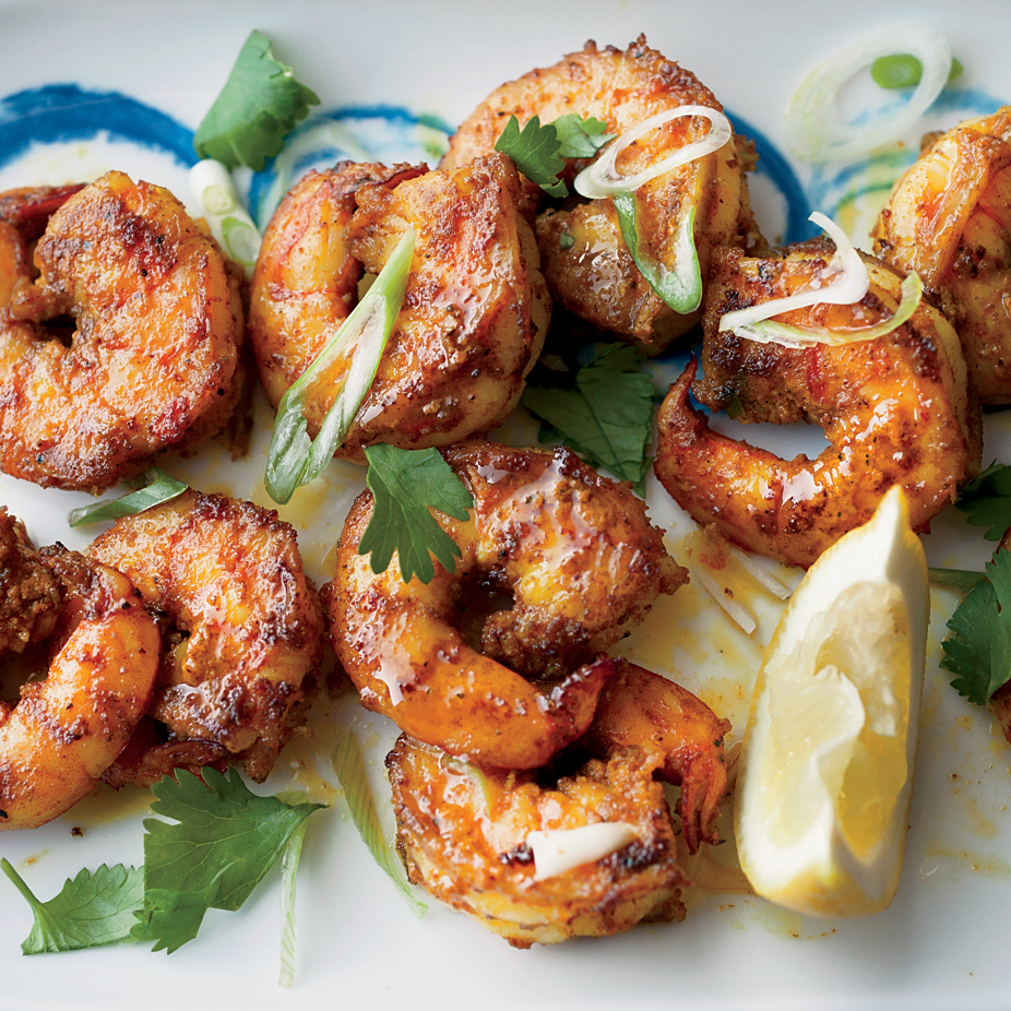 Masala Fried Shrimp