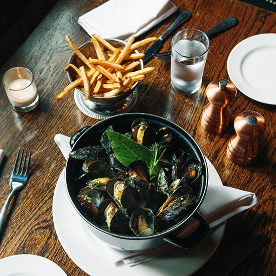 Moules-Frites at Chez Billy