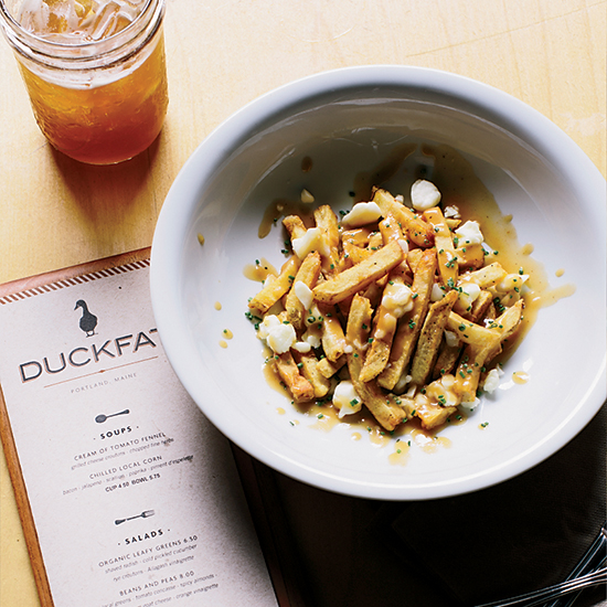 Poutine at Duckfat