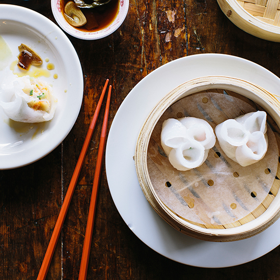 Lobster Dumplings at Empire Chinese
