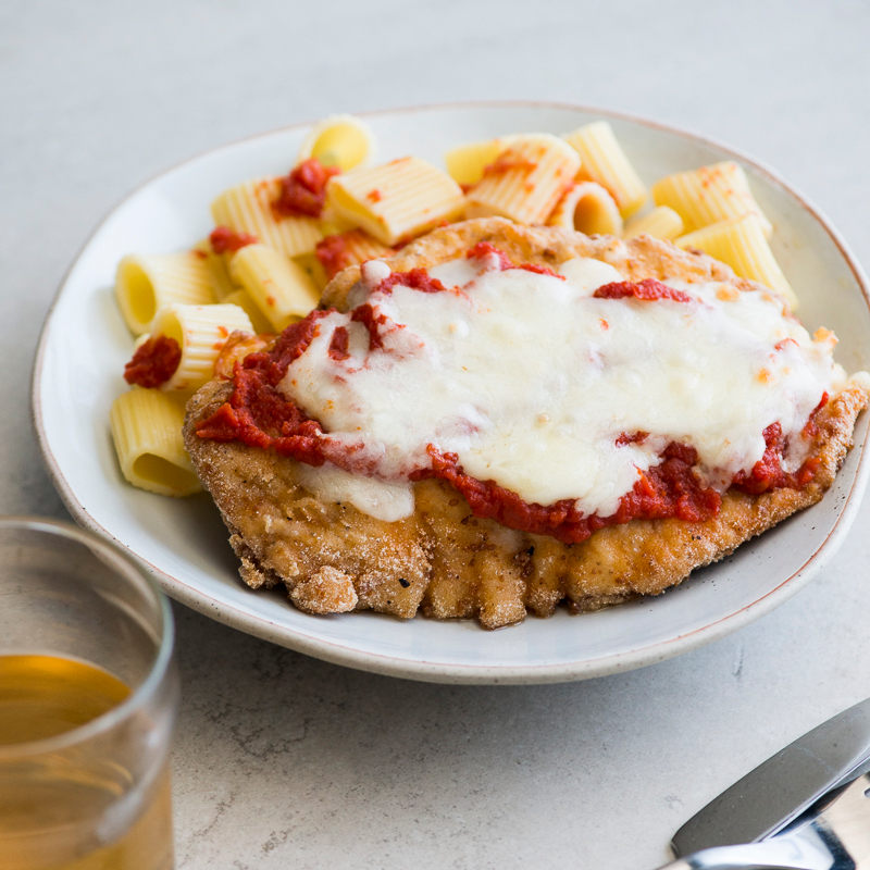 Rice Flour Chicken Parmesan