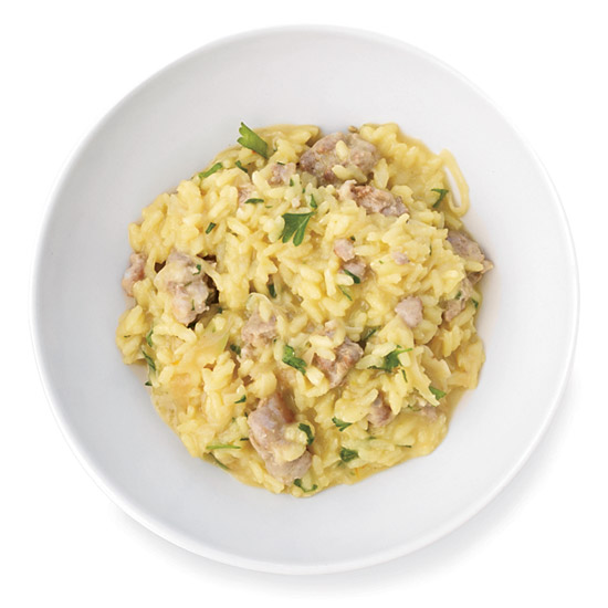 Fennel-and-Sausage Risotto