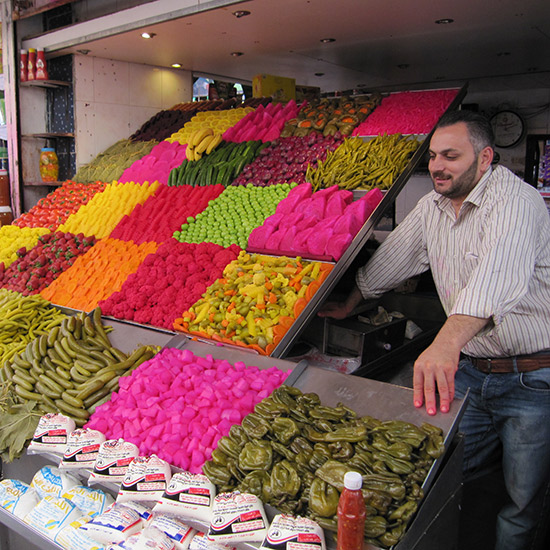 Fruits and Vegetables in Syria
