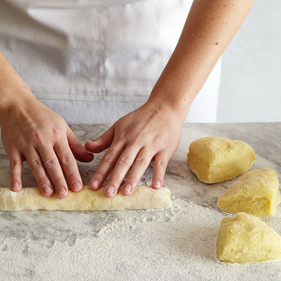 How to Make Gnocchi: Roll the Dough Into Ropes