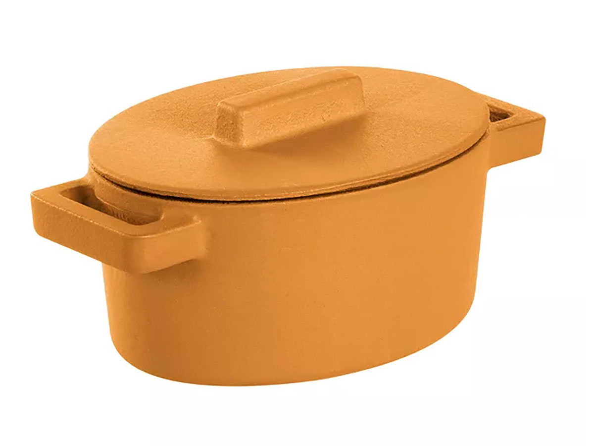 Sambonet Terra Cotto Oval Casserole With Lid
