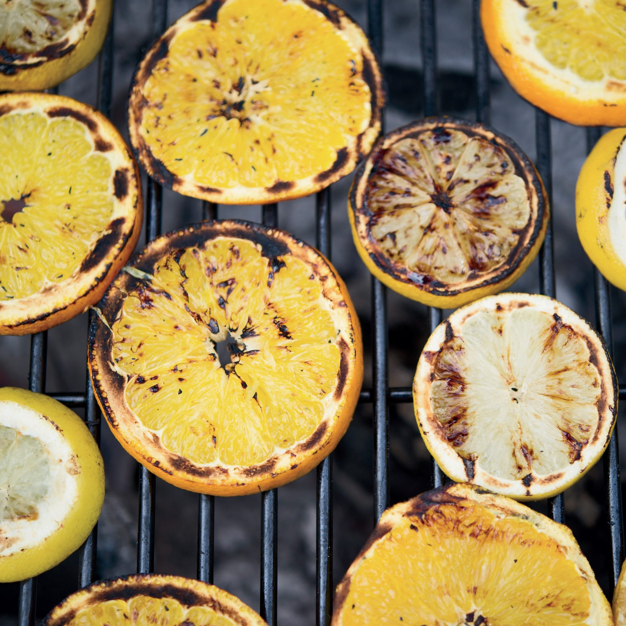Grilled-Citrus Margaritas