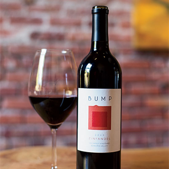 Big Red Zinfandel, Bump Wine Cellars, Sonoma