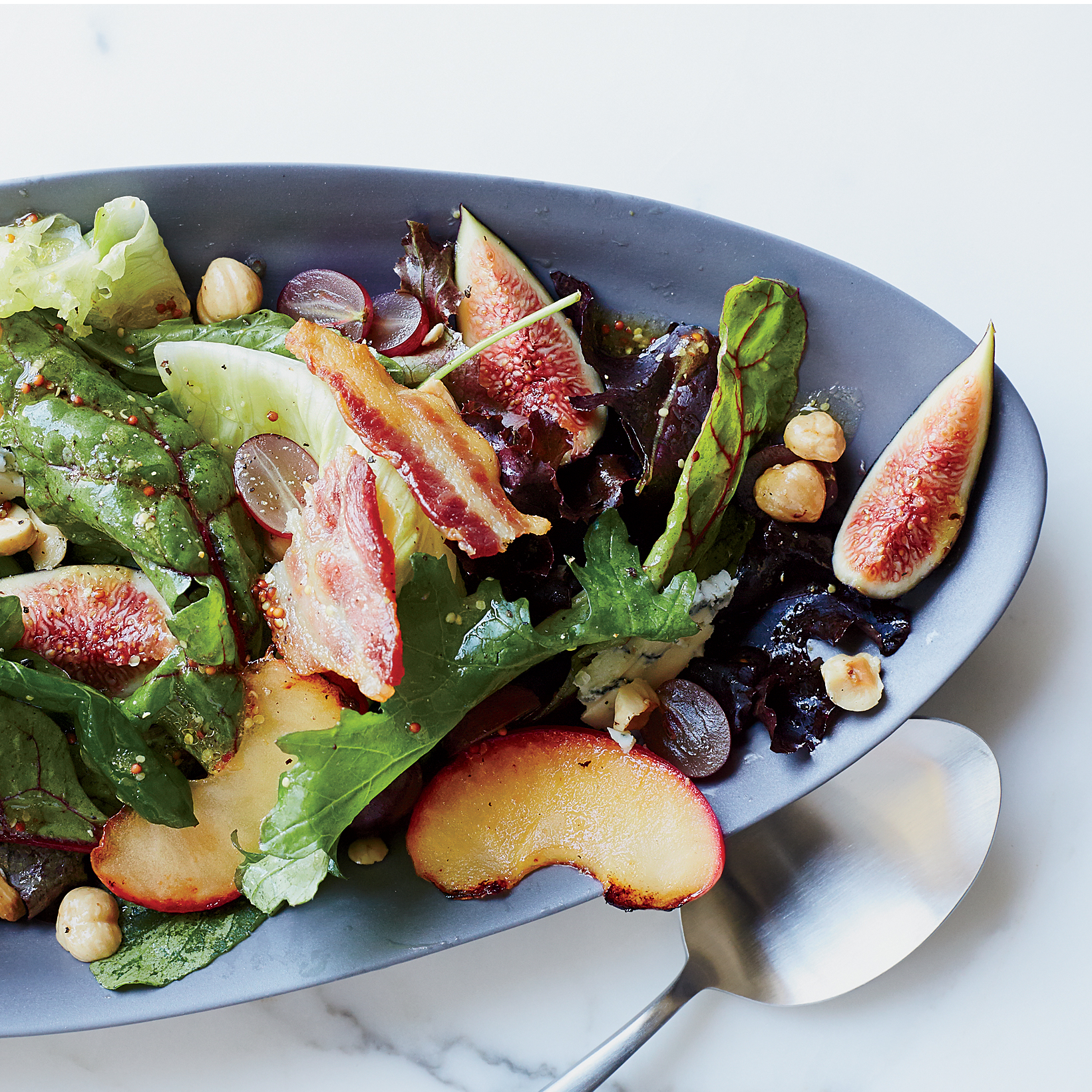 Autumn Salad with Figs and Blue Cheese