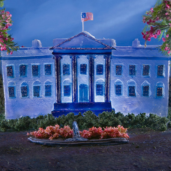 White House in Jell-O