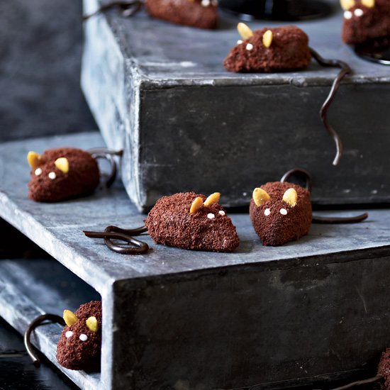 Chocolate Mice Halloween Treat