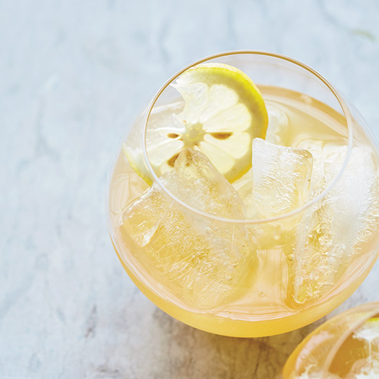 Citrus, Brandy, and Pineapple Punch