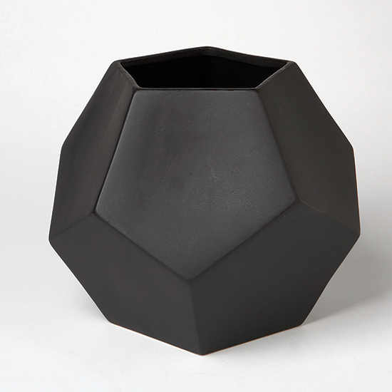 Geometric Home Design: Faceted Vase