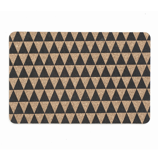 Geometric Home Design: Triangle Cork Dinner Mats