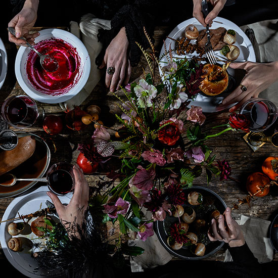 Witches Dinner Party
