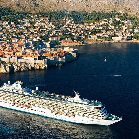 Cruises for Food Lovers: Crystal Cruises