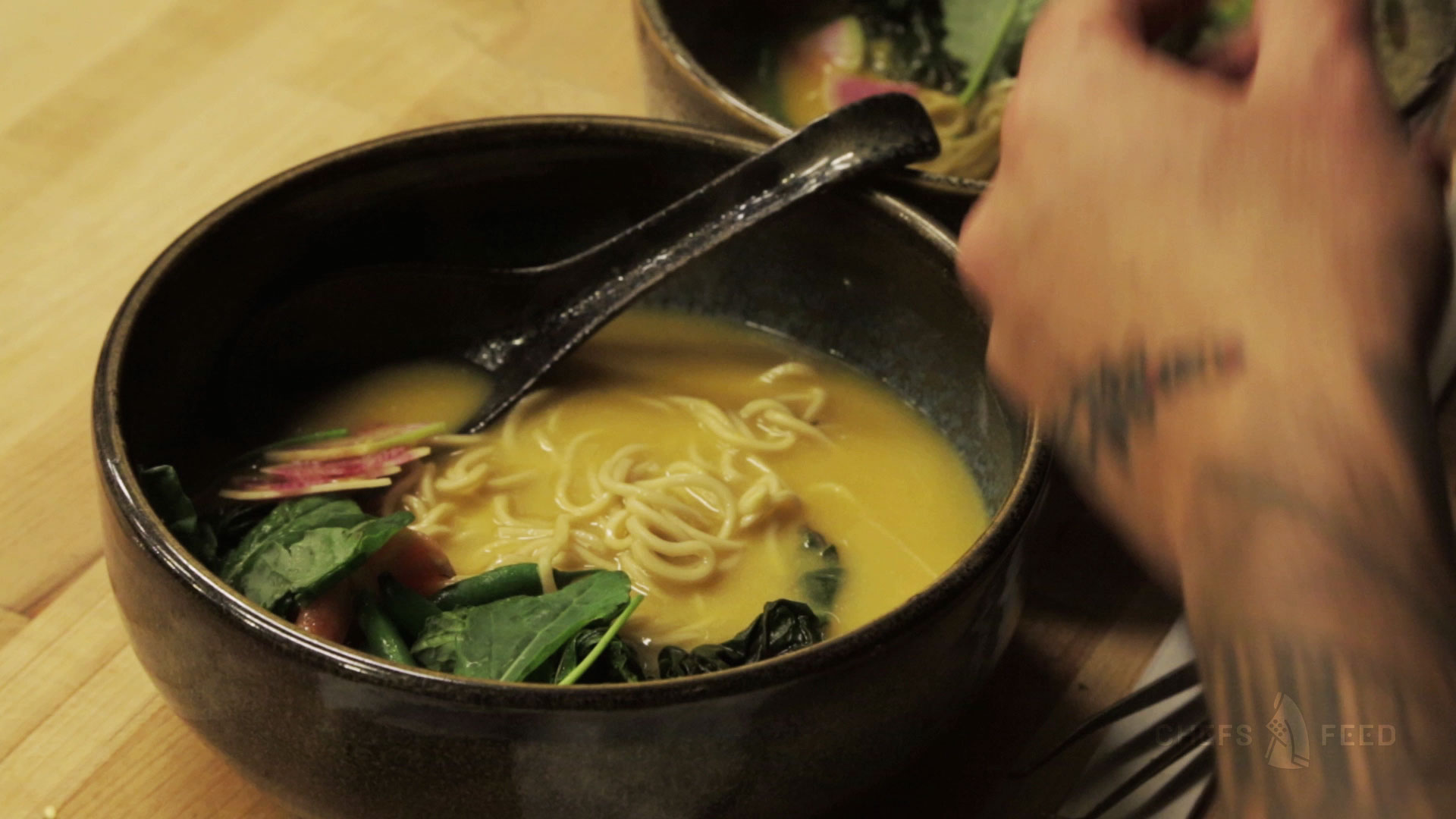 Go Inside Opening Night at a Super-Hot New Ramen Joint