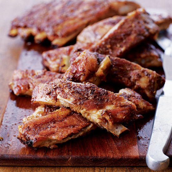 Tuscan-Style Spareribs with Balsamic Glaze