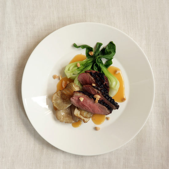Duck with Miso-Almond Butter
