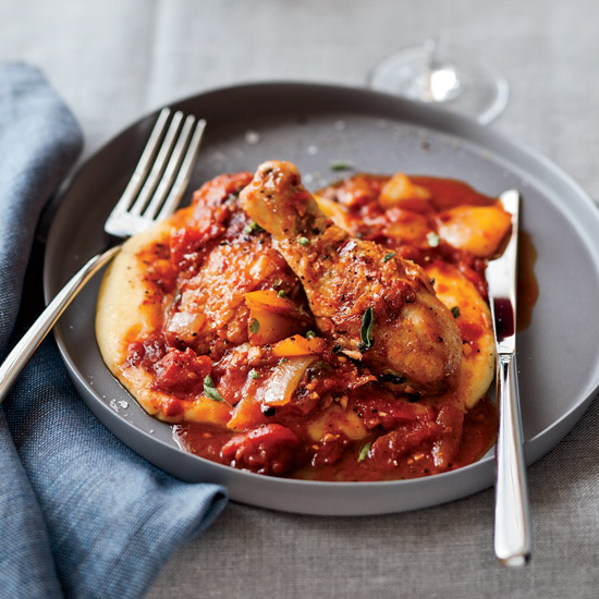 Braised Chicken all'Arrabbiata
